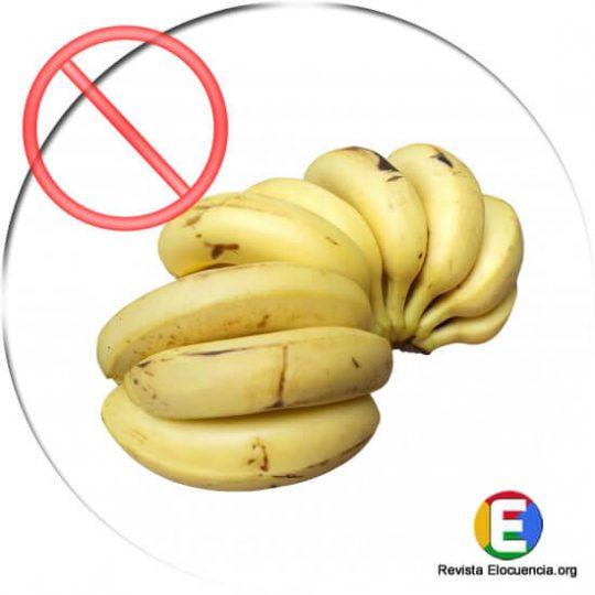los plátanos no son buenos para los diabéticos