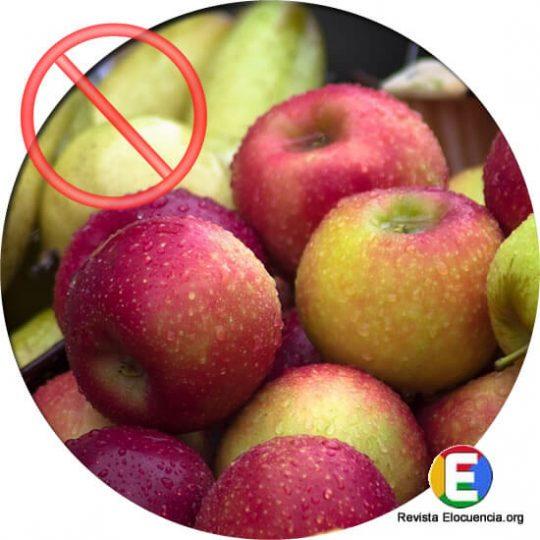 las manzanas no son buenas para los diabéticos