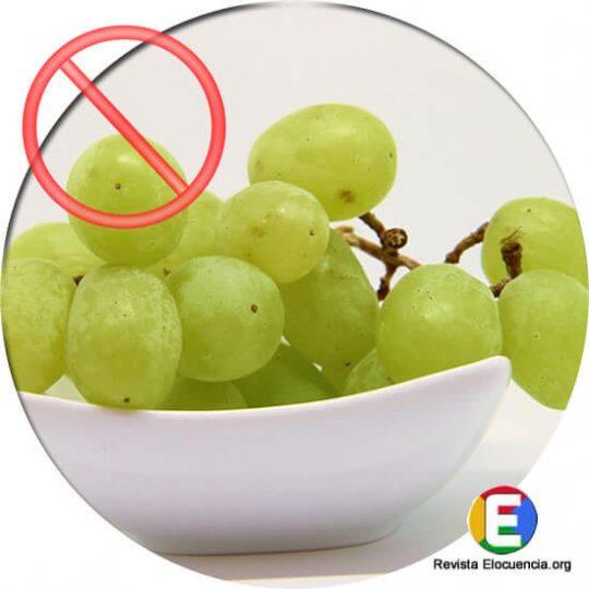 los uvas no son buenas para los diabéticos