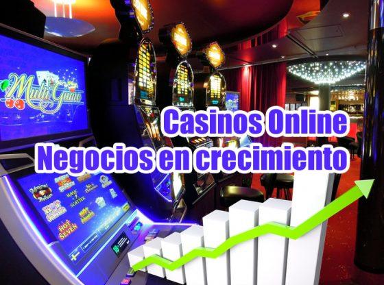 imagen del artículo crecimiento de los negocios sobre casinos online