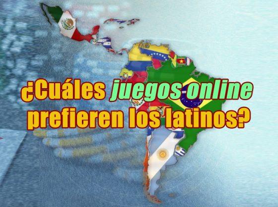 Imagen del artículo ¿Cuáles juegos online prefieren los latinos? en la que se muestra un mapa de latino américa