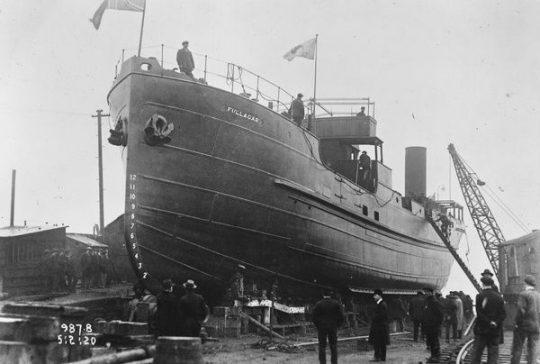 Imagen del barco MS Fullagar