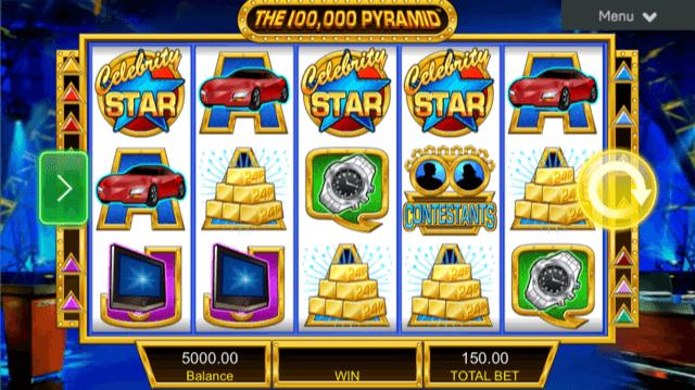 imagen de la slotmachine 100.000 pyramid