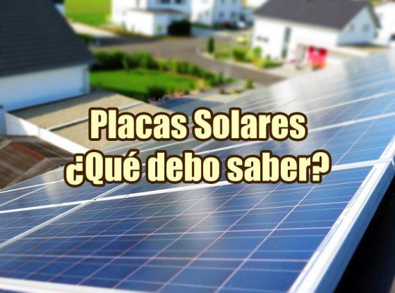 imagen del artículo sobre placas solares en la que aparece un tejado con paneles fotovoltaicos