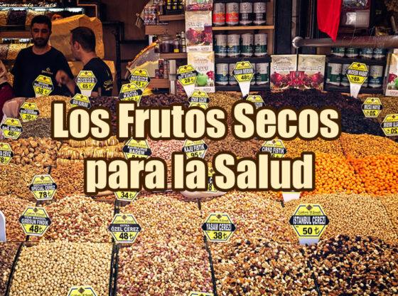 imagen de portada del artículo sobre frutos secos en la que aparece un stand con multitud de sacas con distintos tipos de frutos secos
